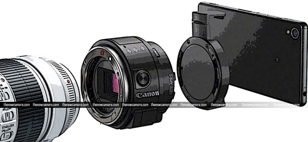 Canon разрабатывает камеру-адаптер с гибридным байонетом