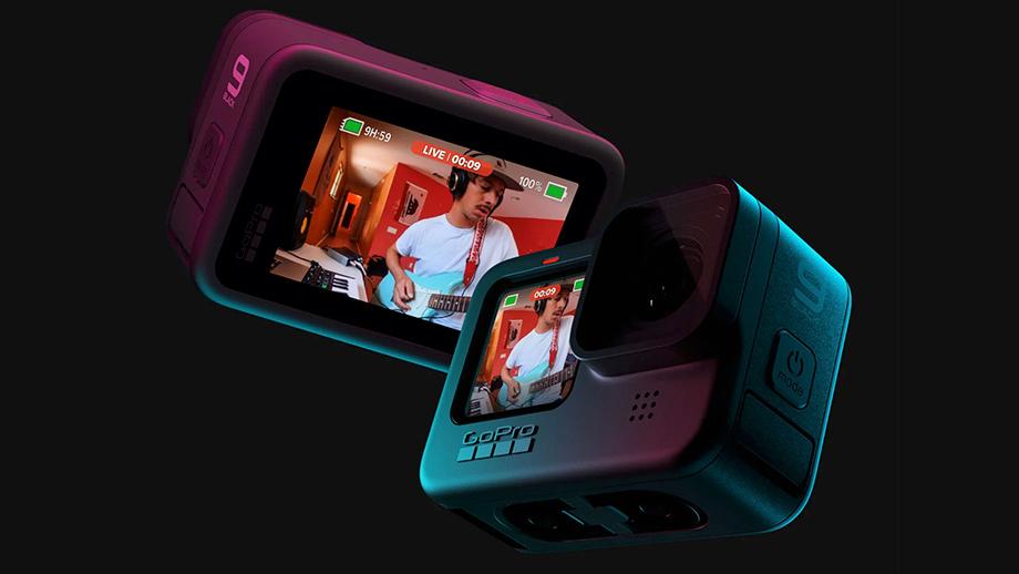GoPro HERO9 Black: видео 5K, большой дисплей и ёмкая батарея