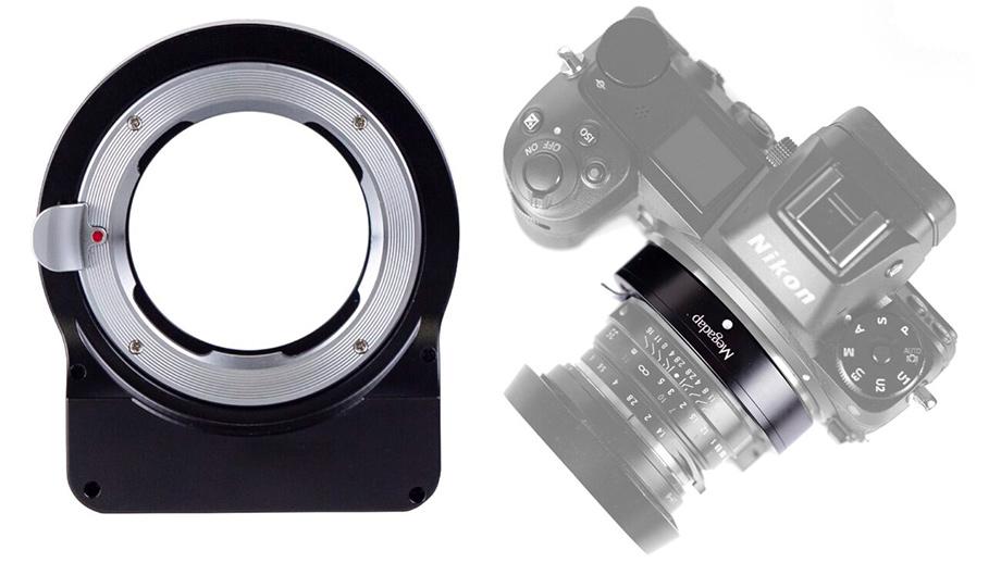 Адаптер Megadap MTZ11 для объективов Leica M на камеры Nikon Z