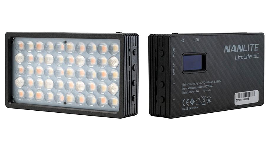 Nanlite LitoLite 5C – компактная LED-лампа на магнитах