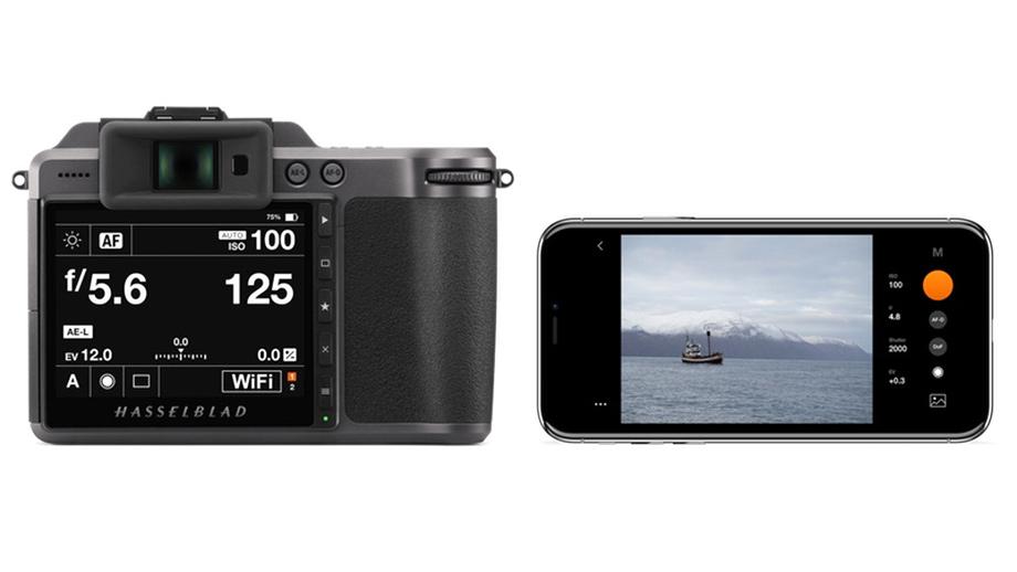 Приложение Phocus Mobile 2 для iPhone позволяет удалённо управлять камерой Hasselblad