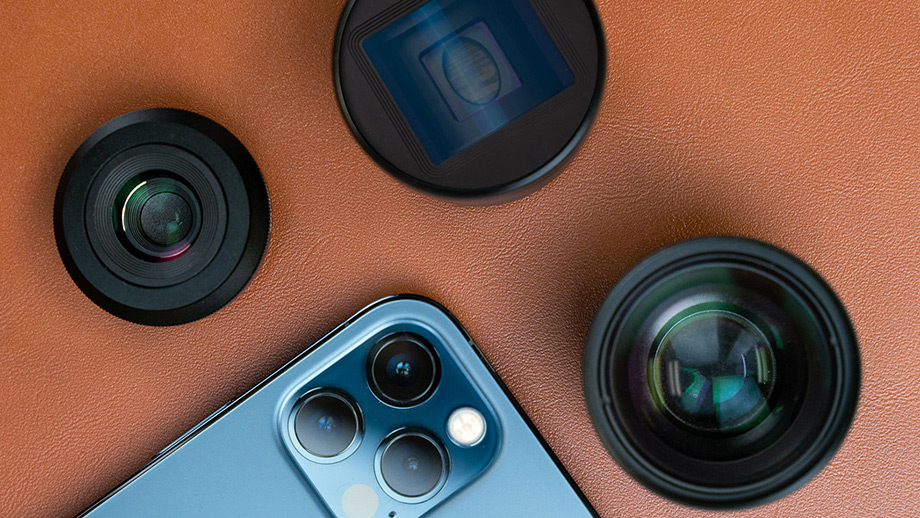 Объективы и фильтры для iPhone 12 от SANDMARC