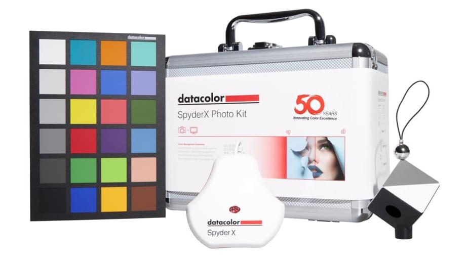 SpyderX Photo Kit – комплект инструментов калибровки цвета для фотографов