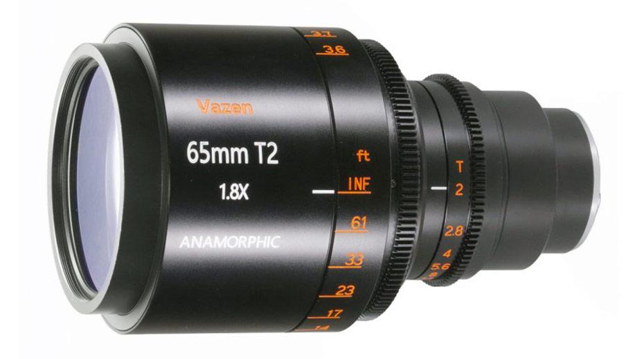 Компания Vazen представила 65mm T2 1.8x Anamorphic для Микро 4/3