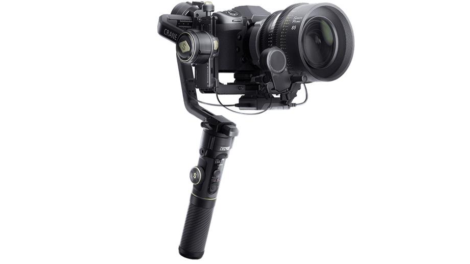 Zhiyun Crane 2S теперь позволяет снимать вертикальное видео