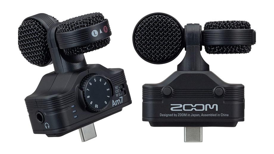 Zoom Am7 – микрофон для Android-смартфонов с USB-C