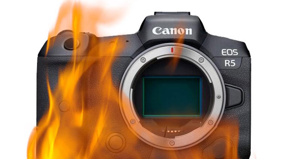 Перегрев Canon EOS R5 – ограничение со стороны производителя?