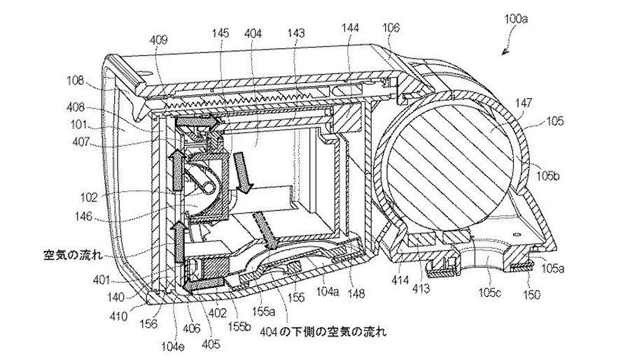 Canon патентует гибридную вспышку Speedlite с постоянным и импульсным светом