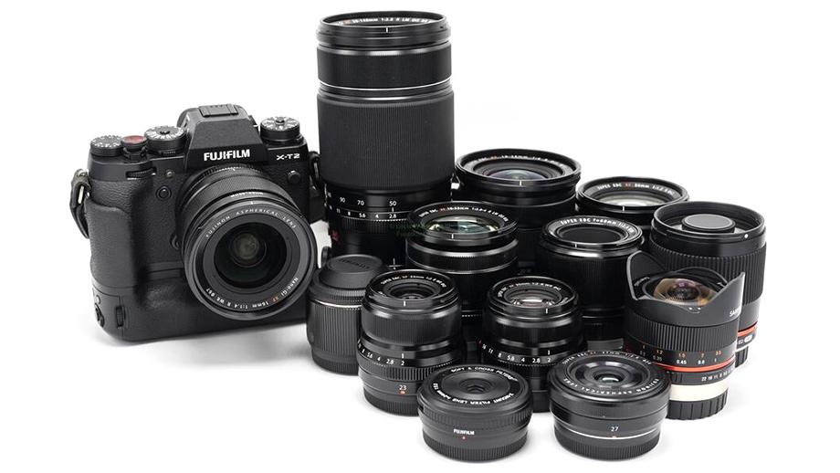 Обновление прошивки для 7 объективов Fujifilm