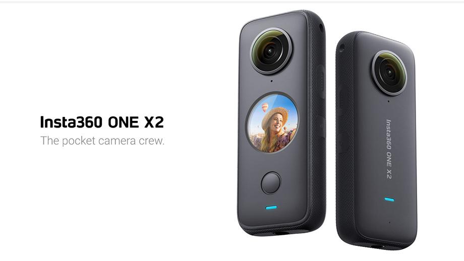 Insta360 представила 360-градусную камеру ONE X2
