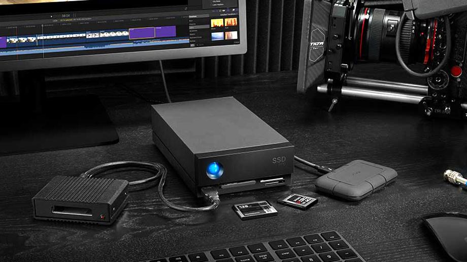 Хранилища LaCie 1big Dock SSD Pro и 1big Dock