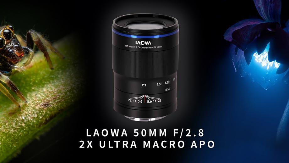 Laowa 50mm f/2.8 2X Ultra Macro APO официально анонсирован