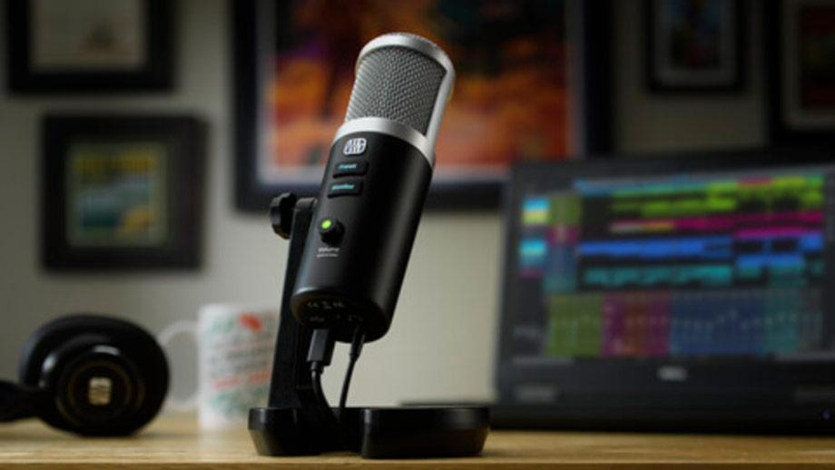 USB-микрофон PreSonus Revelator для стримов, подкастов и интервью
