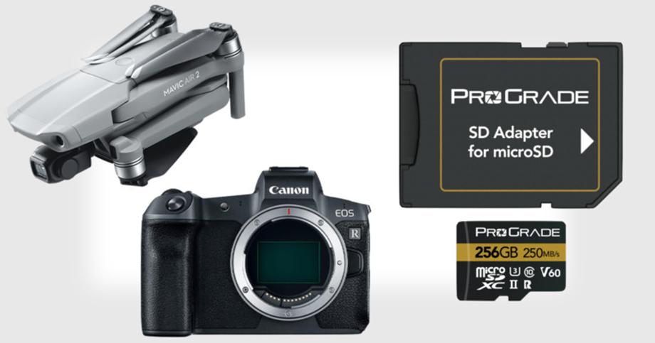 Карты памяти ProGrade Digital microSD – быстрее и дешевле