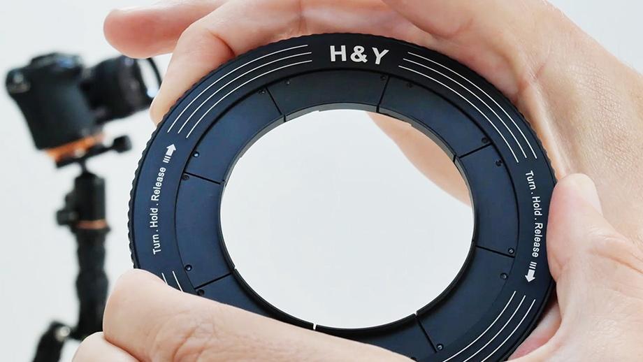 H&Y Revoring – держатели для фильтров с переменным диаметром