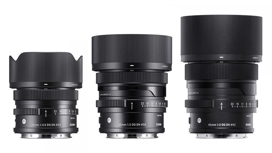 Sigma представила объективы 24mm F3.5, 35mm F2 и 65mm F2 для байонетов E и L