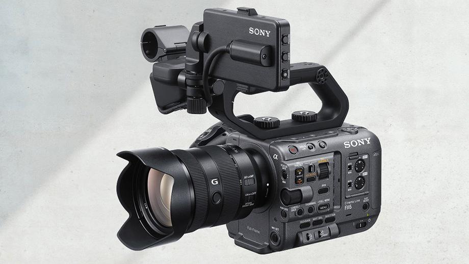 Полнокадровая кинокамера Sony FX6