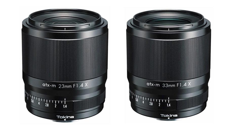 Tokina анонсировала объективы 23mm и 33mm F1.4 atx-m для Fujifilm X
