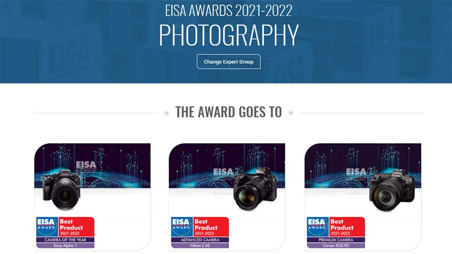 Никто не обижен. Премию EISA Awards Photography 2021-2022 получили все…