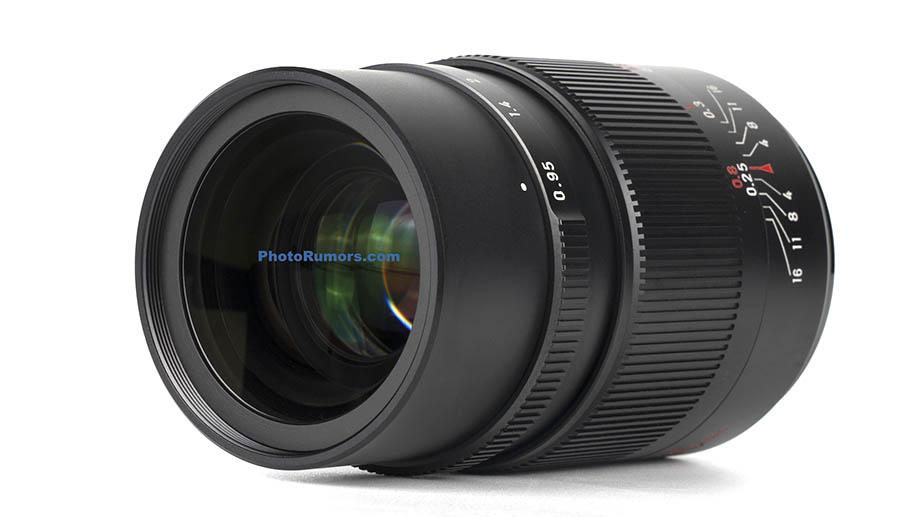 Скоро будет представлен объектив 7Artisans 25mm F0.95 для кроп-камер