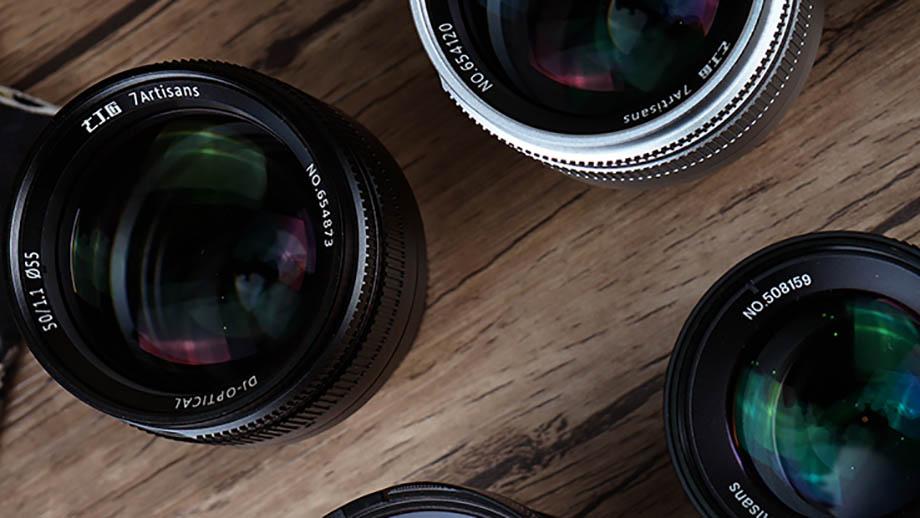 Готовятся к выпуску четыре объектива 7artisans: 7.5mm F2.8, 10mm F2.8, 55mm F1.4 и 60mm F2.8