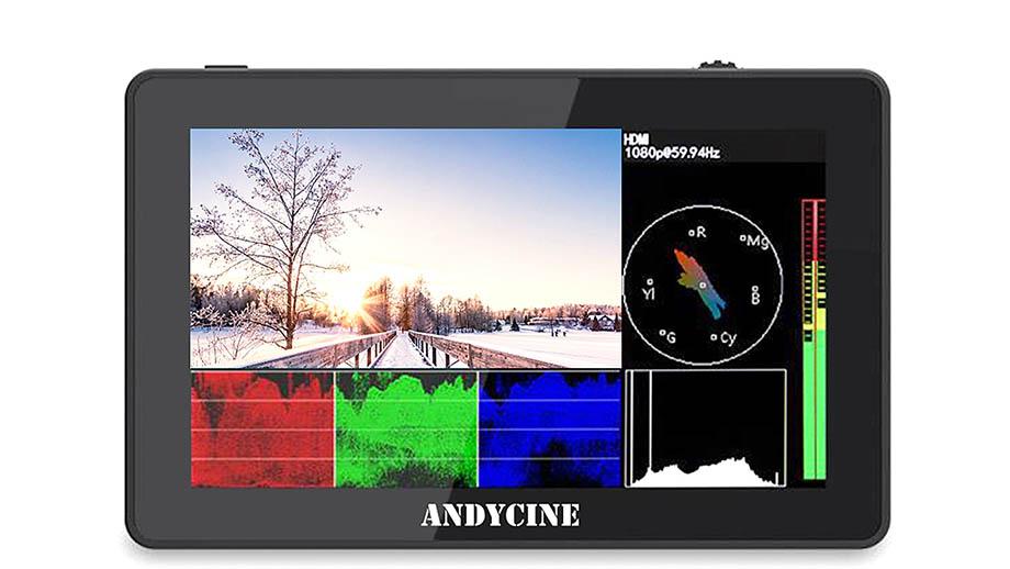 ANDYCINE A6 Plus V2 – бюджетный накамерный монитор