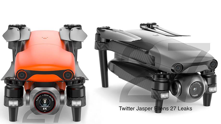 Скоро будет представлен новый дрон Autel