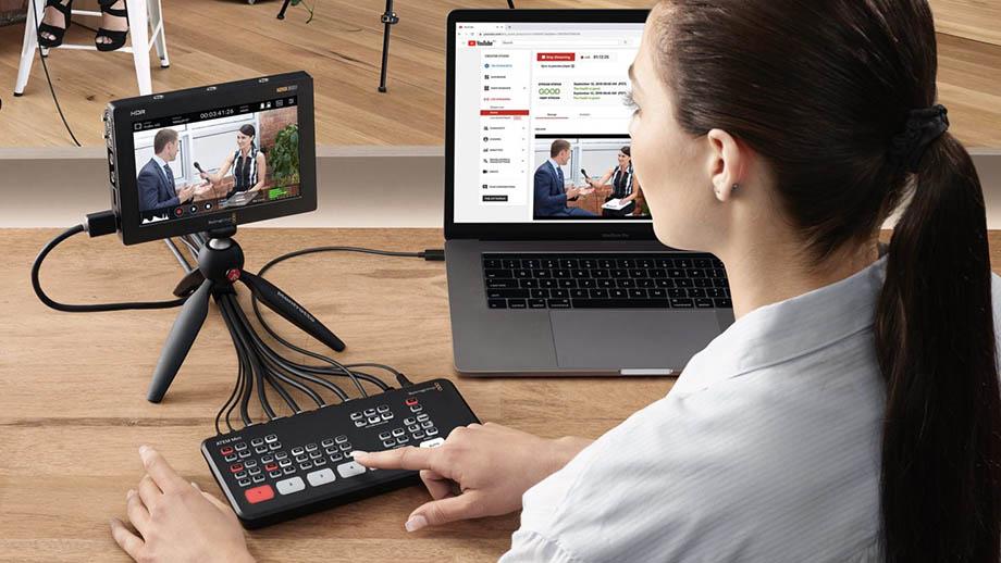 ATEM Mini Pro – новый микшер для видеотрансляций от Blackmagic