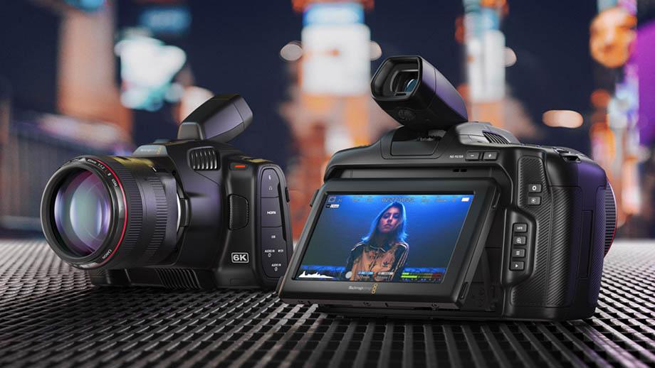 Blackmagic представила Pocket Cinema Camera 6K Pro с EF-mount за $2495