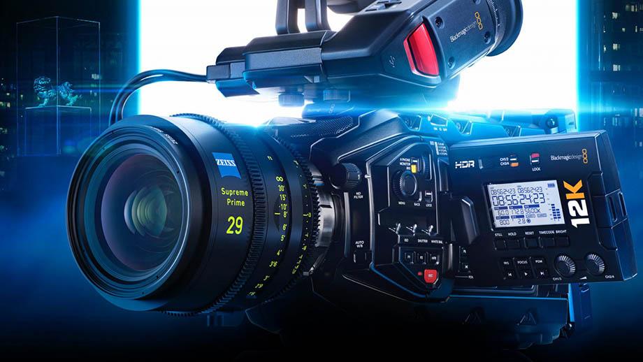 Blackmagic анонсировала 12K в новой URSA Mini Pro Camera