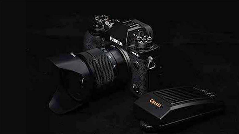 CamFi добавляет поддержку камер Fujifilm