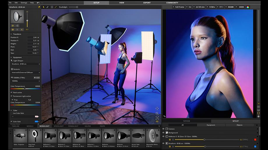 Виртуальная фотостудия set.a.light 3D V2.5