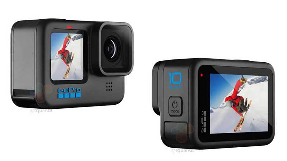 Изображения новой камеры GoPro Hero 10 Black