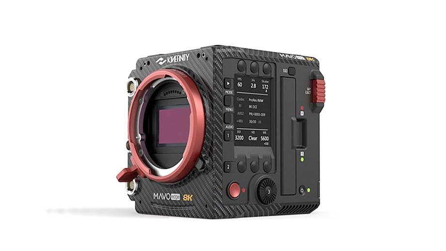 Кинокамера Kinefinity MAVO Edge: видео 8K ProRes Raw на карту до 75 fps