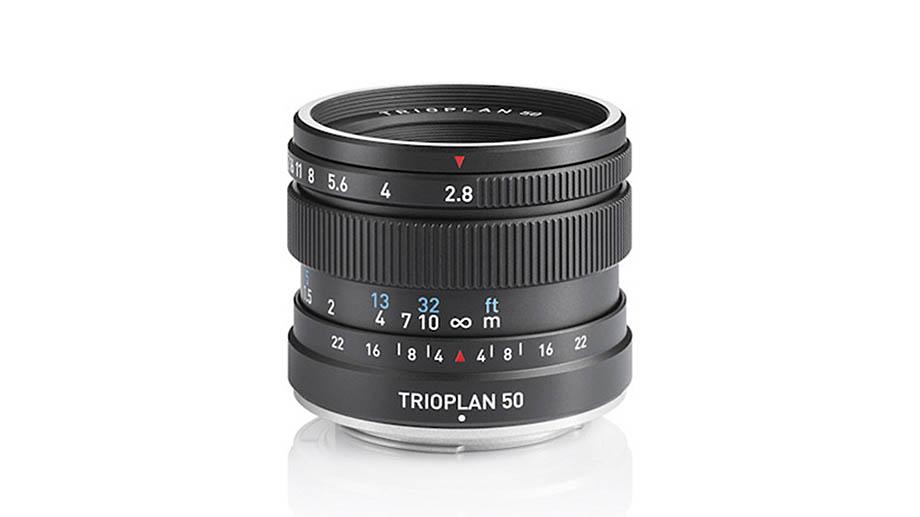 Объектив Meyer Optik Görlitz Trioplan 50mm f/2.8 II представлен и уже поступил в продажу