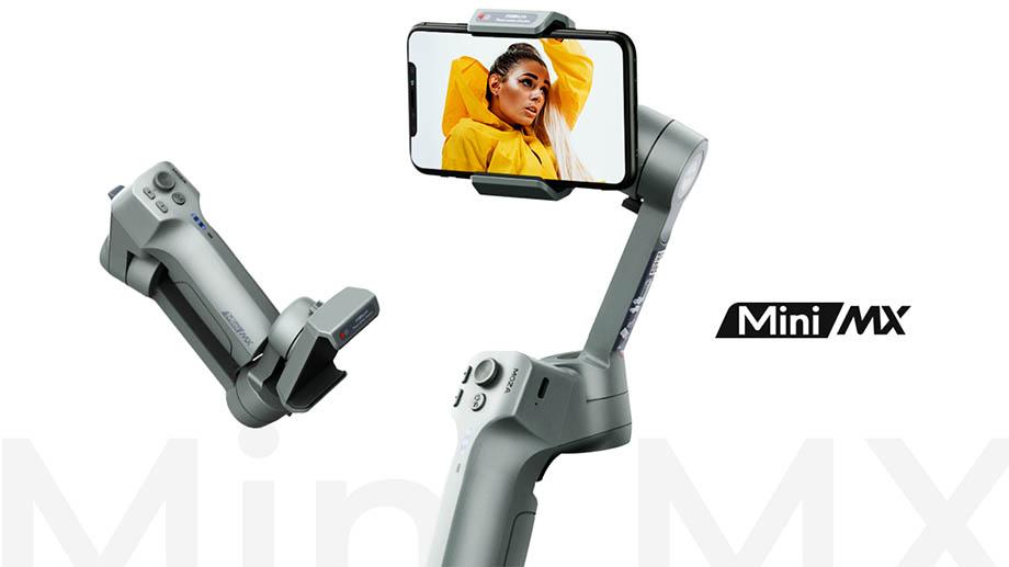 MOZA Mini MX: компактный электронный стабилизатор для смартфонов