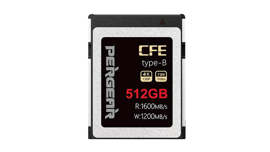 Pergear представили самые дешевые карты памяти CFExpress Type B
