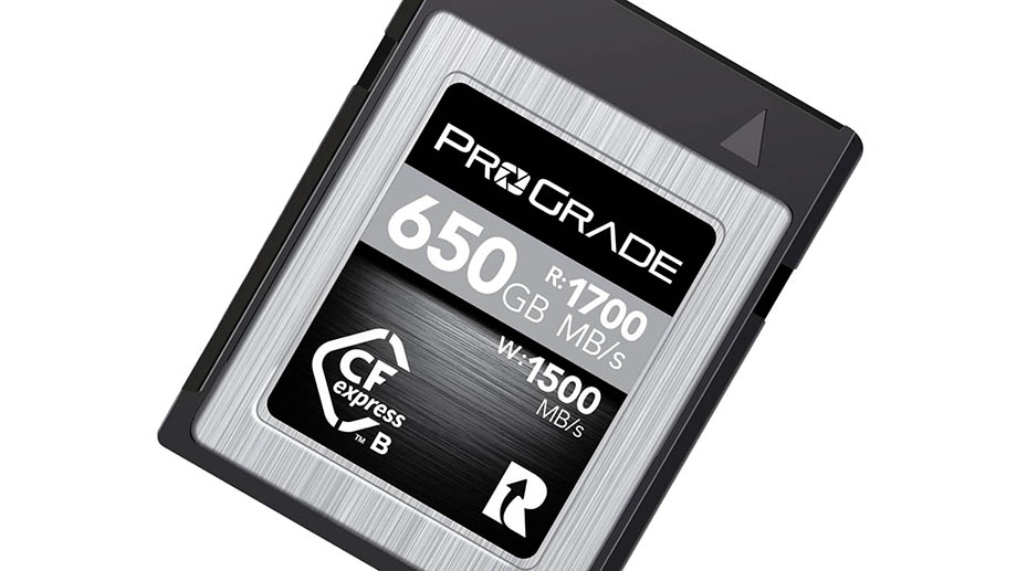 ProGrade Digital 650GB CFexpress 2.0 Cobalt стоит по предзаказу $900