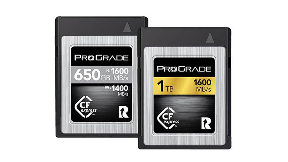 ProGrade Digital официально начинает продажи карты CFexpress Type B