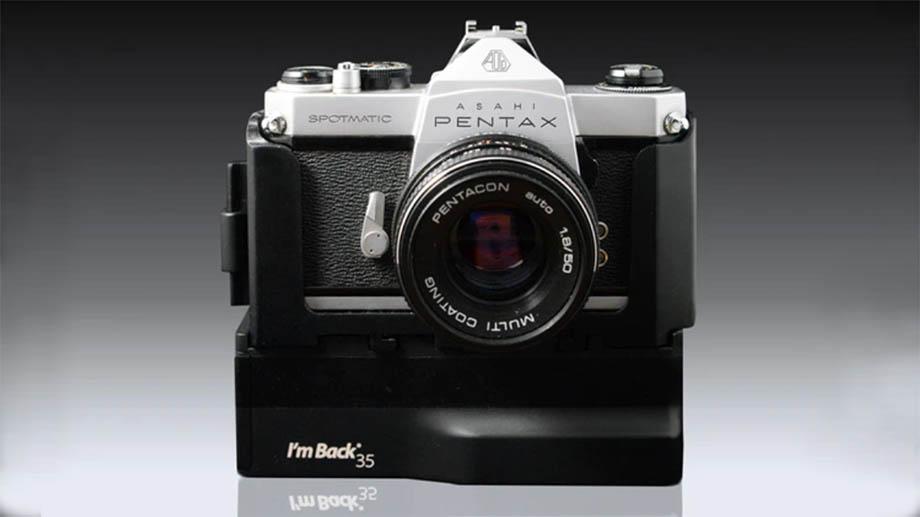 I'm Back 35 – цифровой задник для плёночных камер