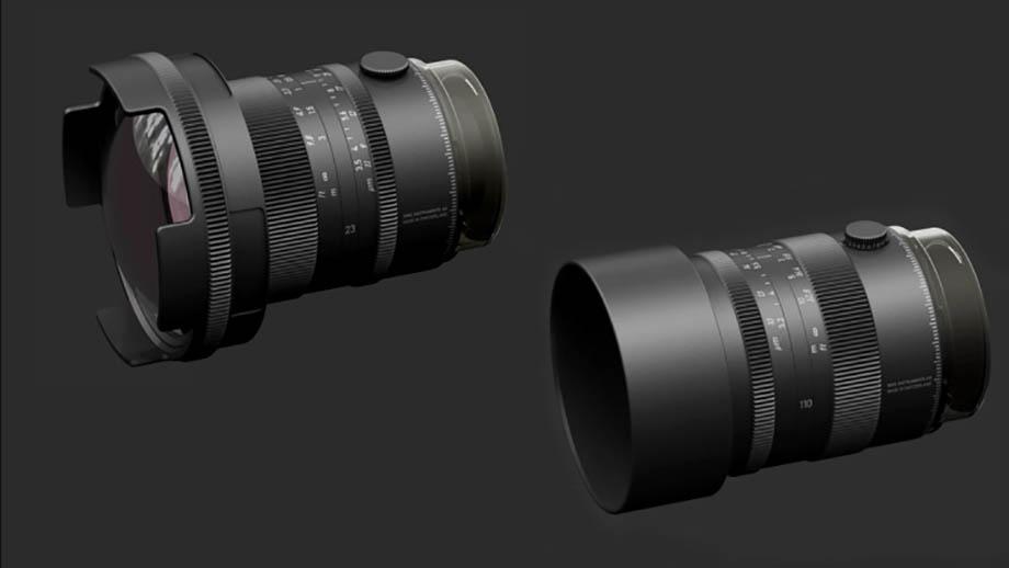 Швейцарские объективы 23mm f/3.5 APO и 110mm f/3.2 APO для Hasselblad'а
