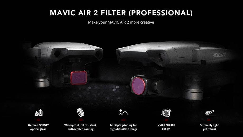 Фильтры PGYTECH для DJI Mavic Air 2