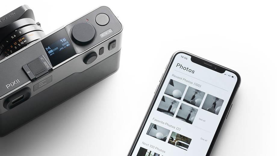 PIXII APS-C с байонетом Leica M представят в понедельник