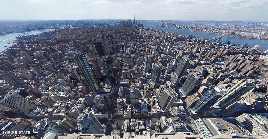 Самая детализированная фотография Нью-Йорка на 120 гигапикселей