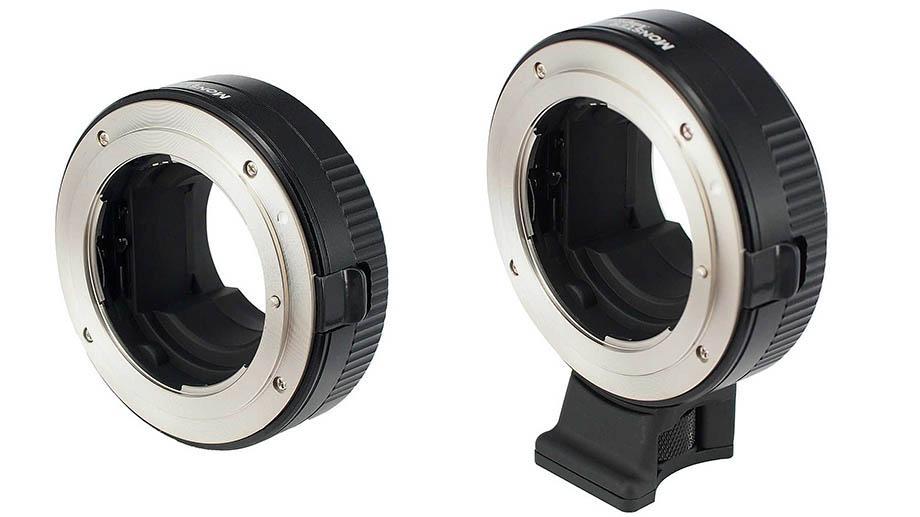 Новый адаптер Monster LA-FE1 для оптики Nikon F на камерах Sony