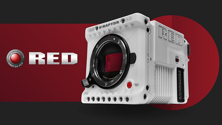 RED V-Raptor 8K за $24500: 35 Мп, 8K, 120 к/с, RF-mount