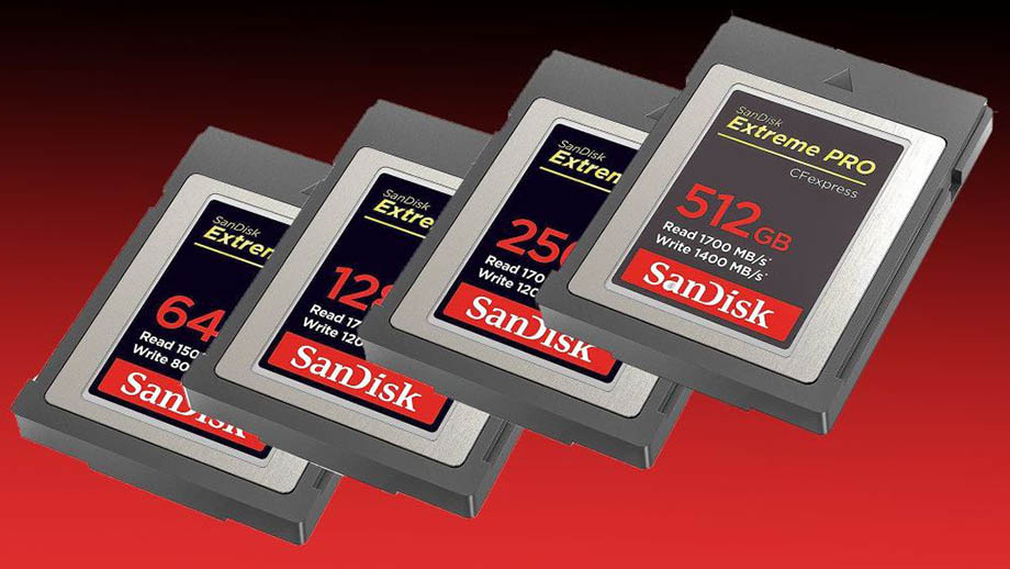 Новые карты SanDisk CFExpress совместимы с камерами Nikon Z6 и Z7