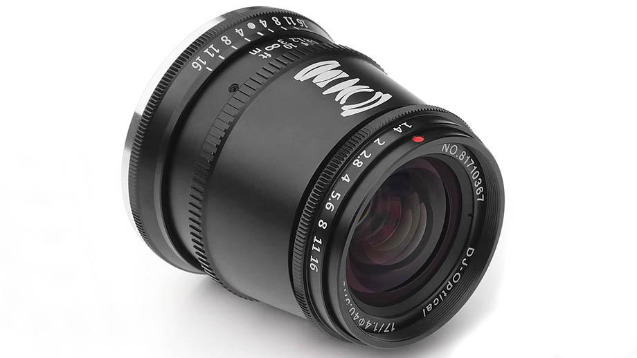 Объектив TTartisan 17mm F1.4 для кроп-камер