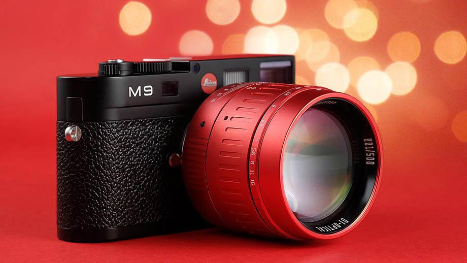 Красный TTartisan 50mm f/0.95 лимитированной серии для Leica M