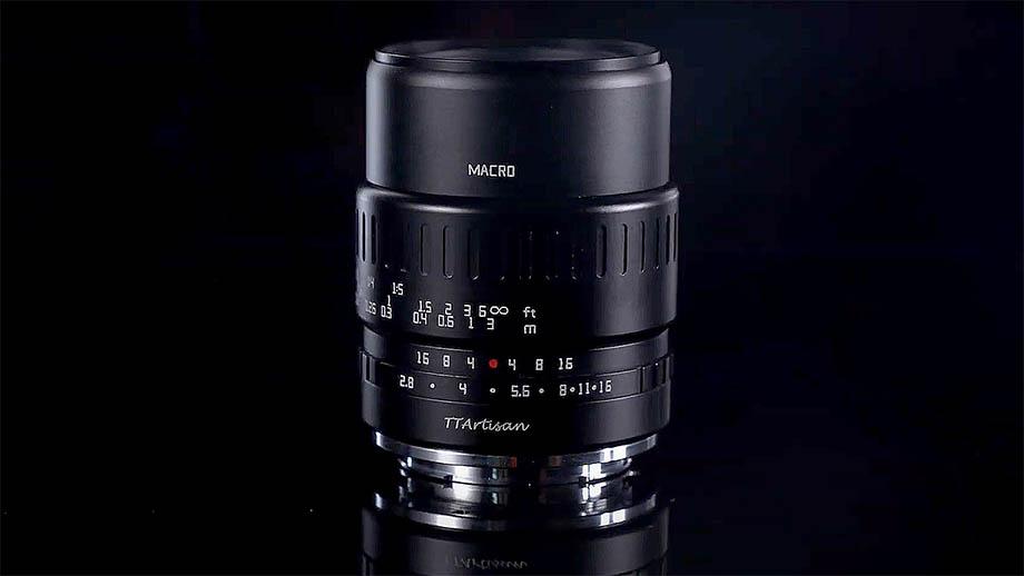Макрообъектив TTartisan 40mm F2.8 для APS-C-камер официально представлен